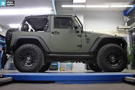 matte pink jeep projects allstar applies
