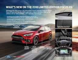 new u0027limited edition u0027 ford focus rs revealed ford authority