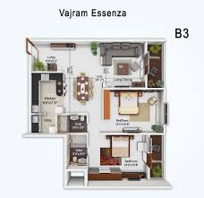 vajram essenza premium apartments b1 plan b2 plan b3 plan