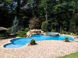 in ground swimming pool designs luxury swimming pool spa design