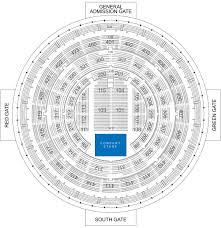 Frontier Seat Map Smart Araneta Coliseum Manila Concert Scene