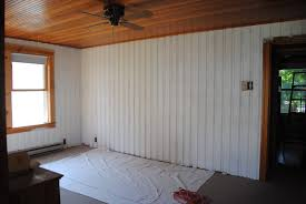 decoration how to paint wood paneling in best way
