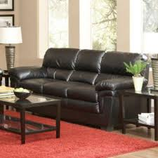 Leather Like Sofa Fenmore Casual Split Back Leather Like Sofa
