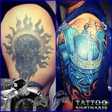 tattoo nightmares candy tattoo cover up hit show tattoo nightmares