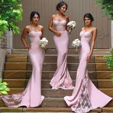 bridesmaid dresses sweetheart bridesmaid dresses with lace appliques pink lace