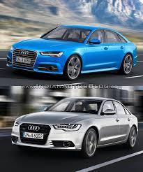 vs 2015 audi a6 vs pre facelift model