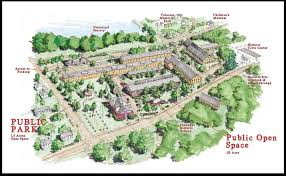 Easton Town Center Map Community Preservation Coalition