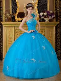 quinceanera dresses with straps discount azure quinceanera dress with one shoulder straps