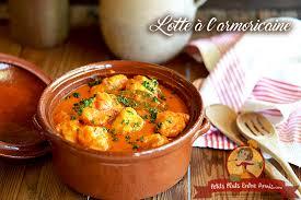 lotte a l armoricaine recette cuisine lotte à l armoricaine version bisque de homard petits plats