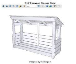 Plans To Build A Firewood Shed by Best 25 Firewood Shed Ideas On Pinterest Wood Shed Plans Wood