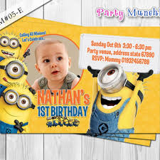 diy minion invitations artfire markets