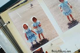 sticky photo album pages becki restoring photo albums into pocket page