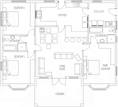 floor plan for one story house house plans single story ideas floor with open design picture of the
