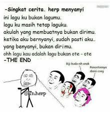 Meme Rage Indonesia - singkat cerita gue nyanyi jangan ngiri lu memes funny indonesia