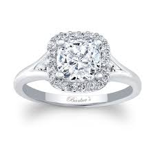 cushion diamond ring barkev s cushion cut engagement ring 7999l barkev s