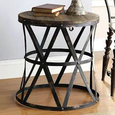 side table country side tables coastal white wash reclaimed wood