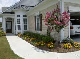 home design for front basic garden ideas interior design