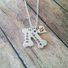 Personalized Paw Print Necklace Necklaceday Popular U0026 Beautiful Necklaces