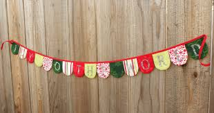 Pretty Bunting Flags Happy Homemaker Me Merry Home Making Series Christmas Bunting