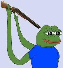 Pepe Meme - shotgun pepe the frog know your meme
