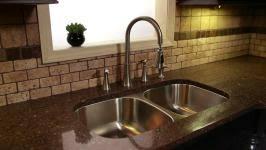 Kitchen Sink Fitting Easy Kitchen Sink Install Hgtv