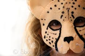 jaguar costume cheetah mask pattern kids cheetah costume digital pattern