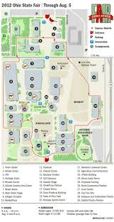 Rutgers Football Parking Map 2012 Ohio State Fair Map