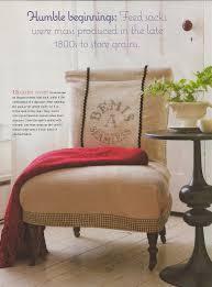 Burlap Home Decor Ideas Red Door Home Bag Of Tricks