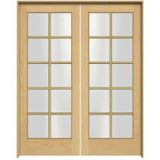 X  French Doors Interior  Closet Doors The Home Depot - Home depot french doors interior