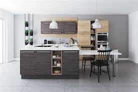 cuisine ilot central modele cuisine ilot central 5 206lot de cuisine id233alis de but