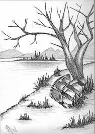 pencil sketch scenery pencil sketch drawing scenery drawing