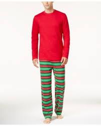 amazing deal family pajamas s striped pajama set
