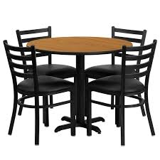 Dining Table 4 Chairs Set Cafe Restaurant Table U0026 Chair Set 36