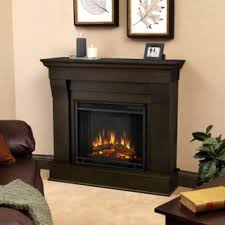 Electric Fireplace With Mantel Real Flame Chateau Electric Fireplace Mantel Dark Walnut 5910e Dw