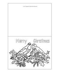 printable christmas cards birds at wonderweirded wildlife com