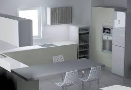 objet cuisine design cuisine blanche et noyer 12 indogate objet deco cuisine design