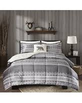 Woolrich Home Comforter Snag This Cyber Monday Sale 10 Off Woolrich Anderson Grey Mink