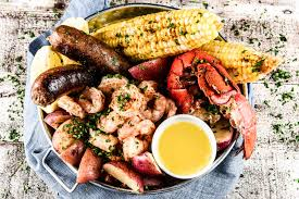 recipe backyard seafood boil with lobster shrimp and spicy