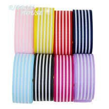 striped grosgrain ribbon 8 colors mixed 1 25mm stripes grosgrain ribbon printed gift
