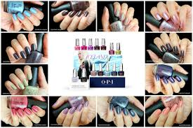 nail polish opi iceland collection for fall winter 2017