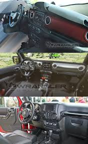 interior jeep wrangler first look production interior of the 2018 jeep wrangler jl jlu