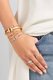 tiffany wire bracelet images Tiffany co t wire narrow 18 karat gold bracelet net a jpg