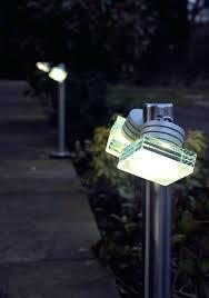 best outdoor garden lights led landscape lighting canada ambo twin head border light bollard path commercial