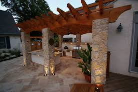 Outdoor Column Light by Five Pergola Lighting Ideas To Illuminate Your Outdoor Space