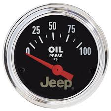 vintage jeep logo autometer officially licensed jeep gauges