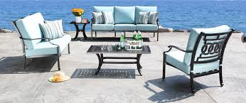 Aluminum Patio Furniture Set - 41 cast aluminum patio furniture milano best designer cast