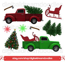 christmas tree truck clipart holiday christmas truck clip art