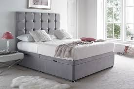 ottoman beds with mattress cavendish ottoman bed with end lift beds on legs