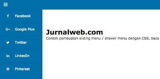 cara membuat halaman utama web dengan php tutorial cara membuat sliding menu dengan css dan html jurnal web