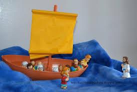 bible fun for kids jesus walks on water